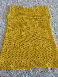 O meu pensamento viaja: Blusa (bela e) amarela - Conclusão!