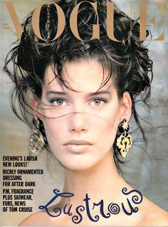 Ruve Watts Vogue Australia, May 1989