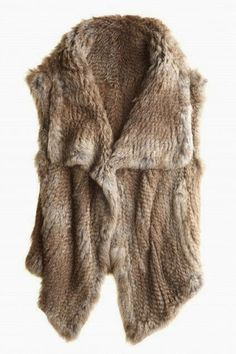 MODE THE WORLD: Warm and Comfy Sleeveless Blazer