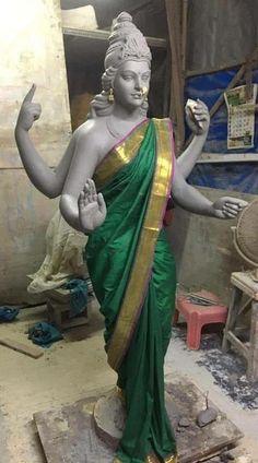 Durga Ji, Durga Images, Supergirl Comic, Mata Rani, Ganesh Wallpaper, Statue, Art, Art Background, Kunst
