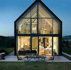 #dream #house #nature #wood #modern #sylish #home #glasses
