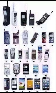 Let's play a game .... and make me feel really old  which was your first phone? I actually had number 4
