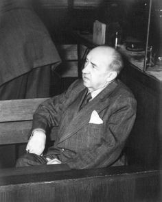 nuremberg trials | Walther Funk, one of the trail defendants