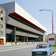 Slovak National Gallery in Bratislava, Slovakia Road Markings, Constructivism, Eastern Europe, Arches, 1960s, Country, Gallery, Bratislava Slovakia, Grandparents