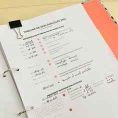 """Pour vous aidez à vous organiser pendant votre parcours de Procréation Médicalement Assistée (PMA) - Extrait du planificateur """"Succès FIV"""" Organiser, Bullet Journal, Positive Mind, Filing Cabinet, Planner Organization, Printable, Organization"""