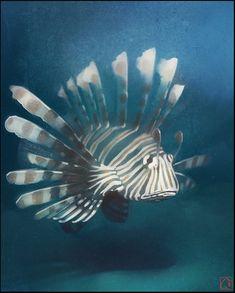 Lion fish by GaudiBuendia on deviantART