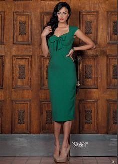 ce6ac3a718 Pre Order Stop Staring! KARLIE Green Dress