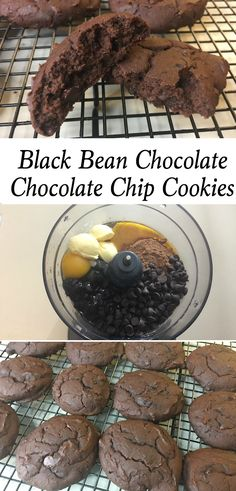 Your family will love this Black Bean Chocolate Chocolate Chip Cookies recipe! Not only are these cookies moist and delicious but they're healthy and easy to make too. Definitely a cookie that the whole family will love...yes, even the kids.