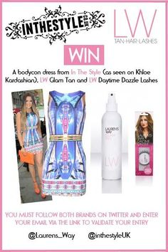 *WIN* @inthestyleUK dress + @Laurens_Way goodies - click the link &follow both to enter RT & FBed & Pinned https://promotion.binkd.com/Enter.aspx?id=11545 pic.twitter.com/q33CtmVC3x