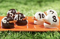 holiday oreo cookie football helmet recipe