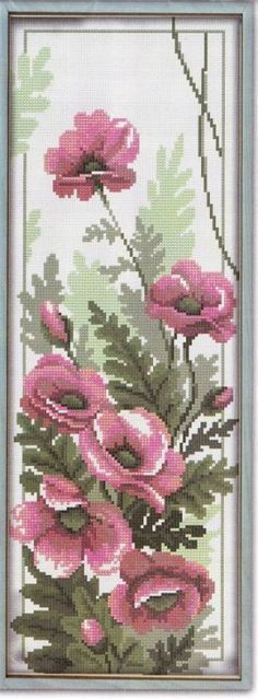Discover thousands of images about Tulips - Cross Stitch Kits by Luca-S - Cross Stitch Love, Cross Stitch Pictures, Cross Stitch Flowers, Cross Stitch Designs, Cross Stitch Patterns, Ribbon Embroidery, Cross Stitch Embroidery, Embroidery Patterns, Ribbon Art
