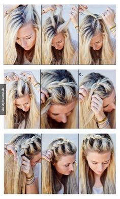 Easy braided pony