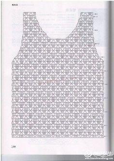 Fabulous Crochet a Little Black Crochet Dress Ideas. Georgeous Crochet a Little Black Crochet Dress Ideas. Débardeurs Au Crochet, Pull Crochet, Gilet Crochet, Mode Crochet, Crochet Shirt, Crochet Jacket, Crochet Diagram, Freeform Crochet, Crochet Cardigan