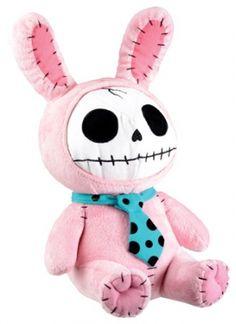 Furry Bones - Pink Bunny Plush (Large 30cm)  £19.99