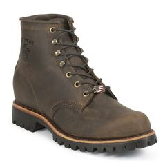 Chippewa Men's Classic Steel Toe Lace Up Boots Mens Lace Up Boots, Leather Boots, Men Boots, Yellow Boots, Black Boots, Chippewa Boots, Timberland Waterproof Boots, Timberland Boots Outfit, Mens Boots Fashion