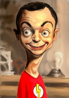 The Big Bang Theory Fan Art Rice&Caricature Cartoon Faces, Funny Faces, Cartoon Characters, Big Bang Theory, Caricature Artist, Caricature Drawing, Funny Caricatures, Celebrity Caricatures, Cartoon Kunst