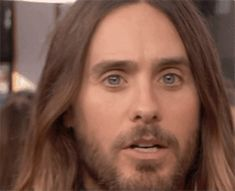Gave us these eyes to the camera... | 27 Reasons Jared Leto Was The Absolute Best Person During All Of Awards Season