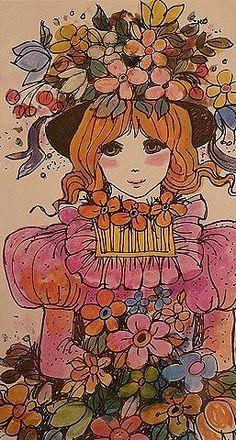 Vintage 60's Illustration