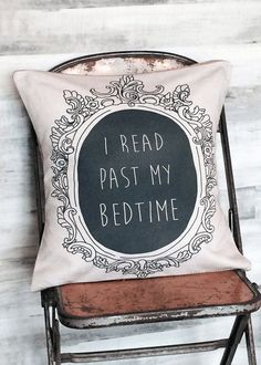 I read past my bedtime. Book lovers are notorious hoarders. We pile books on our nightstands and squeeze them underneath our beds. We fill up bookcases and create sky-high . Books And Tea, I Love Books, Books To Read, My Books, Past My Bedtime, Quirky Decor, Nerd Decor, Book Nooks, My New Room