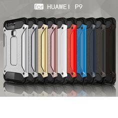 Custodia Cover case Etui Housse Funda Handy taschen TPU + PC per Huawei P9
