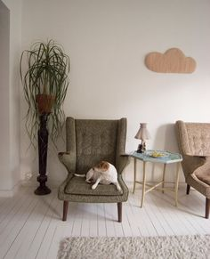 Design*Sponge / Minimal Spaces Visualizing that sweet cloud possibly made up in Liberty
