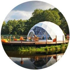 FDomes self-assembly geodesic dome kits are designed and manufactured by Freedomes - a leading global manufacturer and supplier of geodesic dome structures.