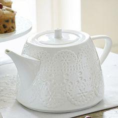 Vintage Teatime Porcelain Teapot - From Lakeland