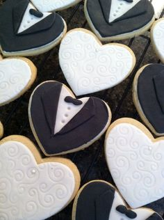 Bride+and+Groom+Wedding+Cookies++Wedding+by+CookieTrayCookies,+$22.00
