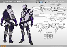 ALEPH Post Humans Proxy MK 5
