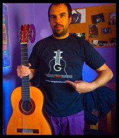 """Con nuestro amigo el Guitarrista """"Alfredo Mesa"""". Fundación Guitarra Flamenca. www.fundacionguitarraflamenca.com"""