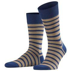 Shop for Falke Even Stripe Socks - Royal Blue. Discover a range of mens socks by Falke. Hiking Socks, Running Socks, Falke Socks, Striped Socks, Knee High Socks, Freundlich, Knitting Socks, Royal Blue, Mens Fashion