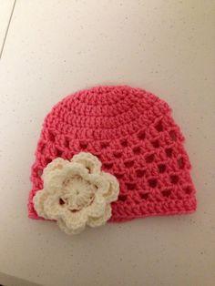 New born hat  by Crochetinsanity on Etsy