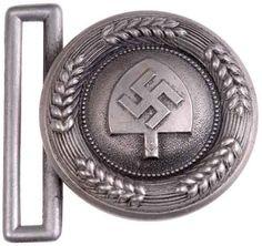 RAD Officer Buckle - Assmann 1937 - front $250