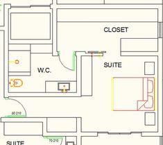 Ideas Closet Pequeno Planta For 2020 Small Master Closet, Master Bedroom Closet, Bathroom Closet, Walking Closet, Closets Pequenos, Coat Closet Organization, Closet Island, Rustic Closet, Ikea Closet