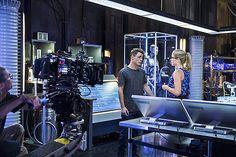 """Arrow's 3x06 """"Guilty"""" behind the scenes."""