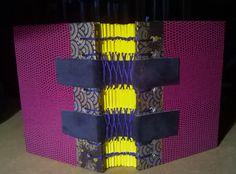 Reliure - book binding - Sandrine bron