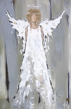Ange Do you want to learn how to hear your angels? If you are interested in learning how to hear your angels speak to you, look no further than The Seventh Angel Book website. Angels are, indeed, everyw… Christmas Angels, Christmas Art, Angel Crafts, Angel Pictures, Christmas Paintings, Angel Art, Book Angel, Painting On Wood, Easy Canvas Painting
