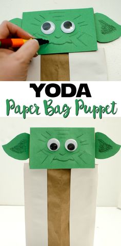 ... Paper Bag Puppets on Pinterest | Paper Bag Crafts, Paper Bags and