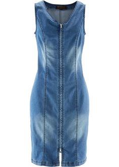 Jeanskleid mit Rei�verschluss blue stone - bpc selection jetzt im Online Shop von bonprix.de ab ? 39,99 bestellen. Mit diesem Jeanskleid mit Rei�verschluss ...