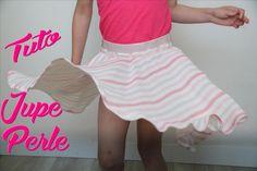 Tuto pour réaliser la jupe Plume pour petite et grande fille.  Blog LaisseLuciefer.