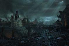post apocalyptic city 08