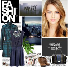 """""""Blue Eyes"""" by gooree ❤ liked on Polyvore"""