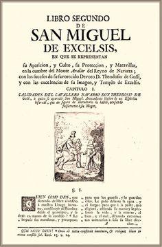"""T. de Burgui. """"San Miguel Excelsis"""" (Pamplona, 1774)"""