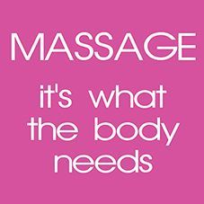 #Massage - it's what the body needs.