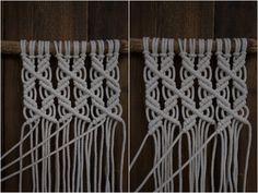 Kaarnan katveessa: Kuvalliset ohjeet: makramee seinävaate Hobbies And Crafts, Diy And Crafts, Textile Art, Clothes Hanger, Textiles, Creative, Handmade, Yarns, Challenges