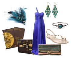 destination New York by giubagnols on Polyvore featuring polyvore, fashion, style, Anoushka G, Alexander McQueen, Lanvin, H&M, Fantasy Jewelry Box, Monsoon, Louis Vuitton, Jayson Home and clothing