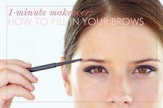 How to Get Fuller Eyebrows - Beauty Tutorial - Eye Makeup Tutorial