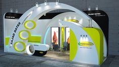- by Hosein Ebadian Exhibition Stall Design, Exhibition Stands, Stage Set Design, Stand Design, Flyer Design, Design Inspiration, Tehran, Behance, Exhibitions