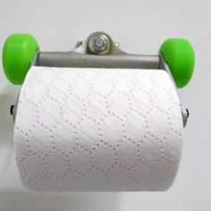 Skateboards parts!! Loo roll holder! Excellent alternative to the mundane loo roll holder !