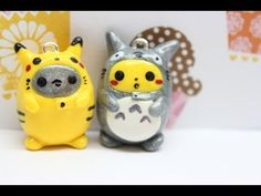 ▶ It's a Toto..Pikachu? Tutorial - YouTube  This is adorable! <3